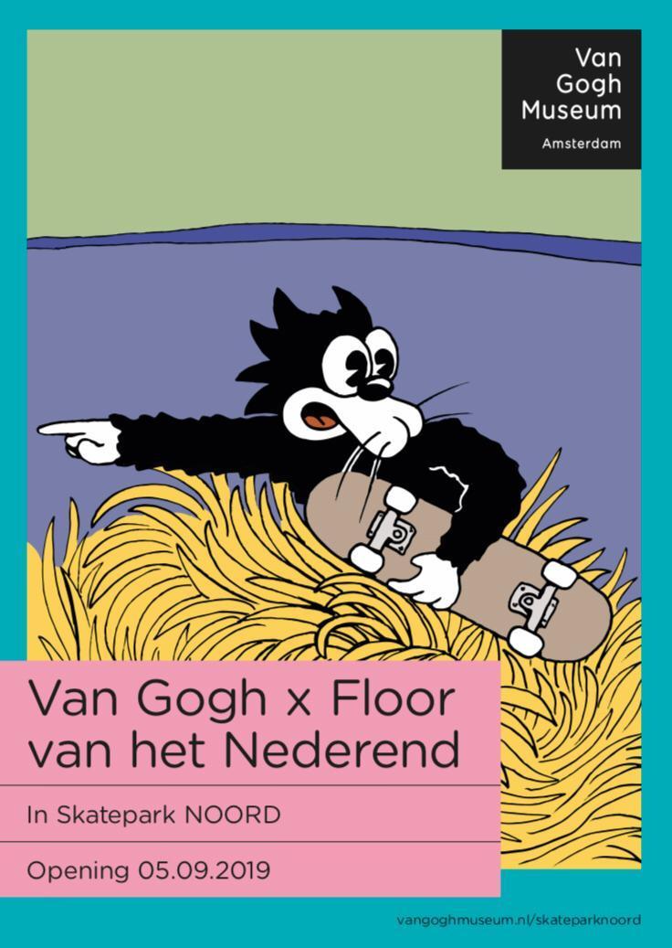 Floor x Noord flyer